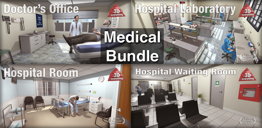 Medical Bundle Reallusion Marketplace