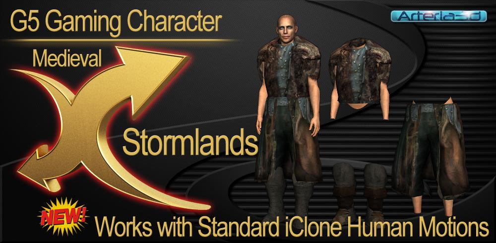 Stormland Medieval G5 Gaming Character - Reallusion Marketplace