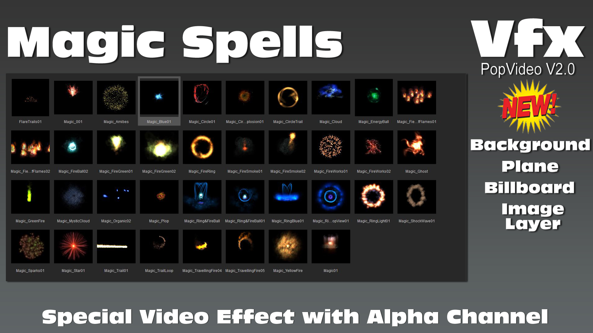 Vfx Magic Spells Video Special Effect - Reallusion Marketplace